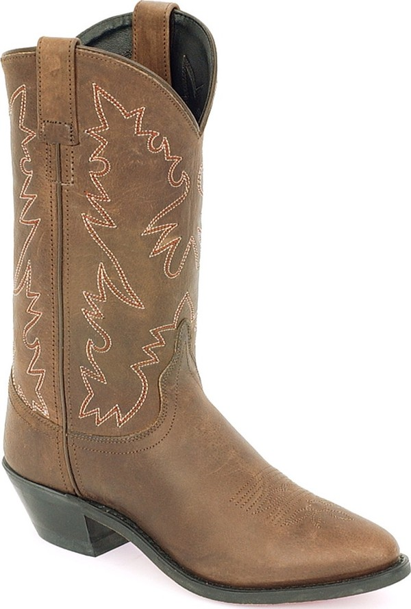 Shoes: cowgirl boots, boots, brown leather boots, country - Wheretoget