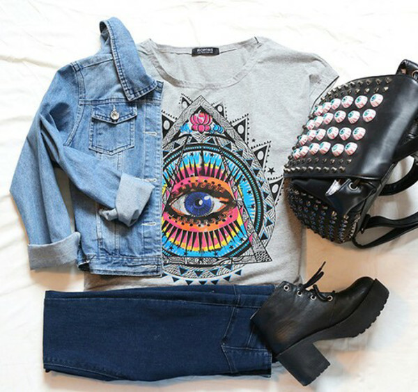 t-shirt jacket blouse