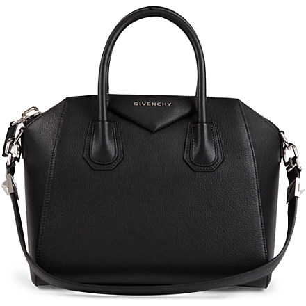 GIVENCHY - Antigona small grainy leather tote | Selfridges.com