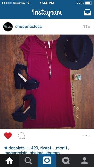 dress style fashion black heels aztec style necklace jewels platform heels high heels chunky heels