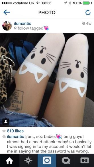 tights kitty