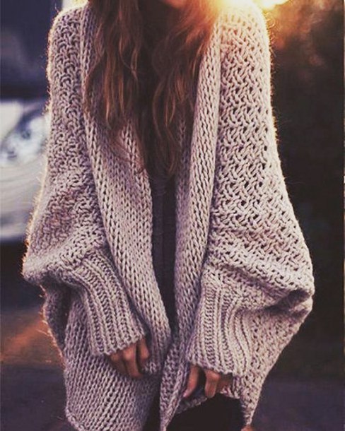 e9a38255a5 cardigan stylish tumblr outfit comfy sweater sweater knit chunky knit  sweater chunky knit cosy sweater oversized