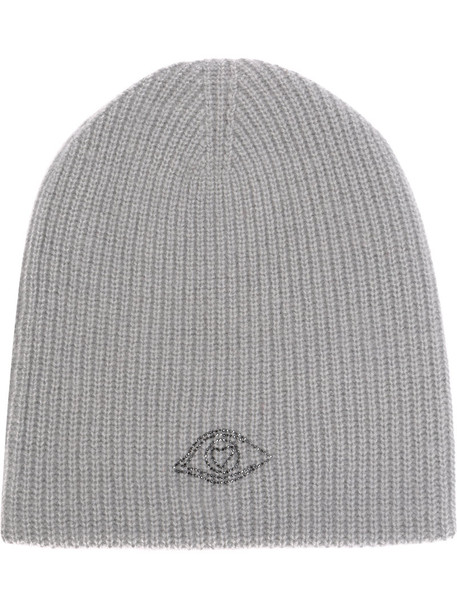 Warm-Me women hat beanie knitted beanie grey