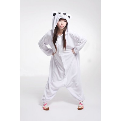 Adult onesies White polar bears Kigurumi Kunt animal onesies