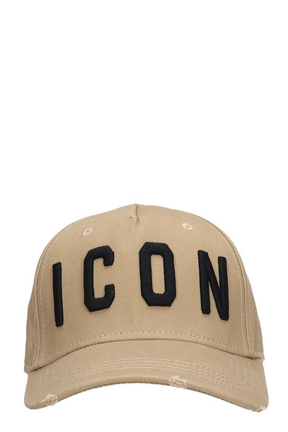Dsquared2 Beige Cotton Hat
