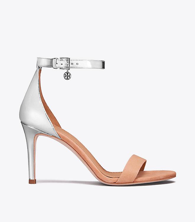 b291409b24f Tory Burch Ellie Color-block Ankle-strap Sandal