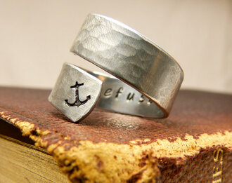 jewels refuse irefusetosink anchor ring