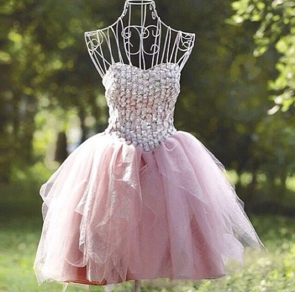 dress white flowy pink pink dress jewels