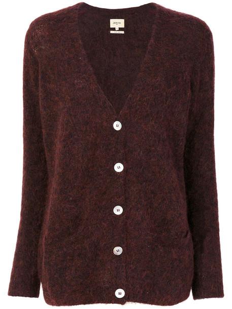 Bellerose cardigan cardigan women spandex mohair wool brown sweater
