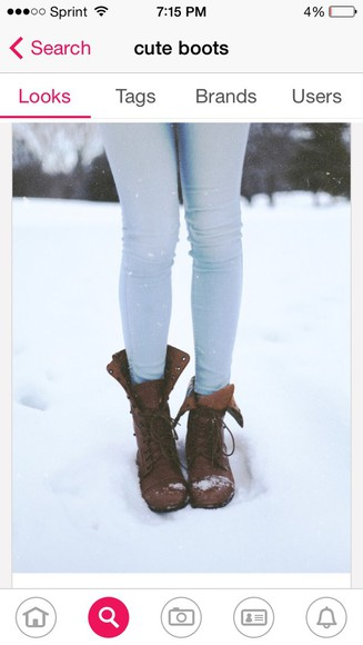 shoes boots jeans