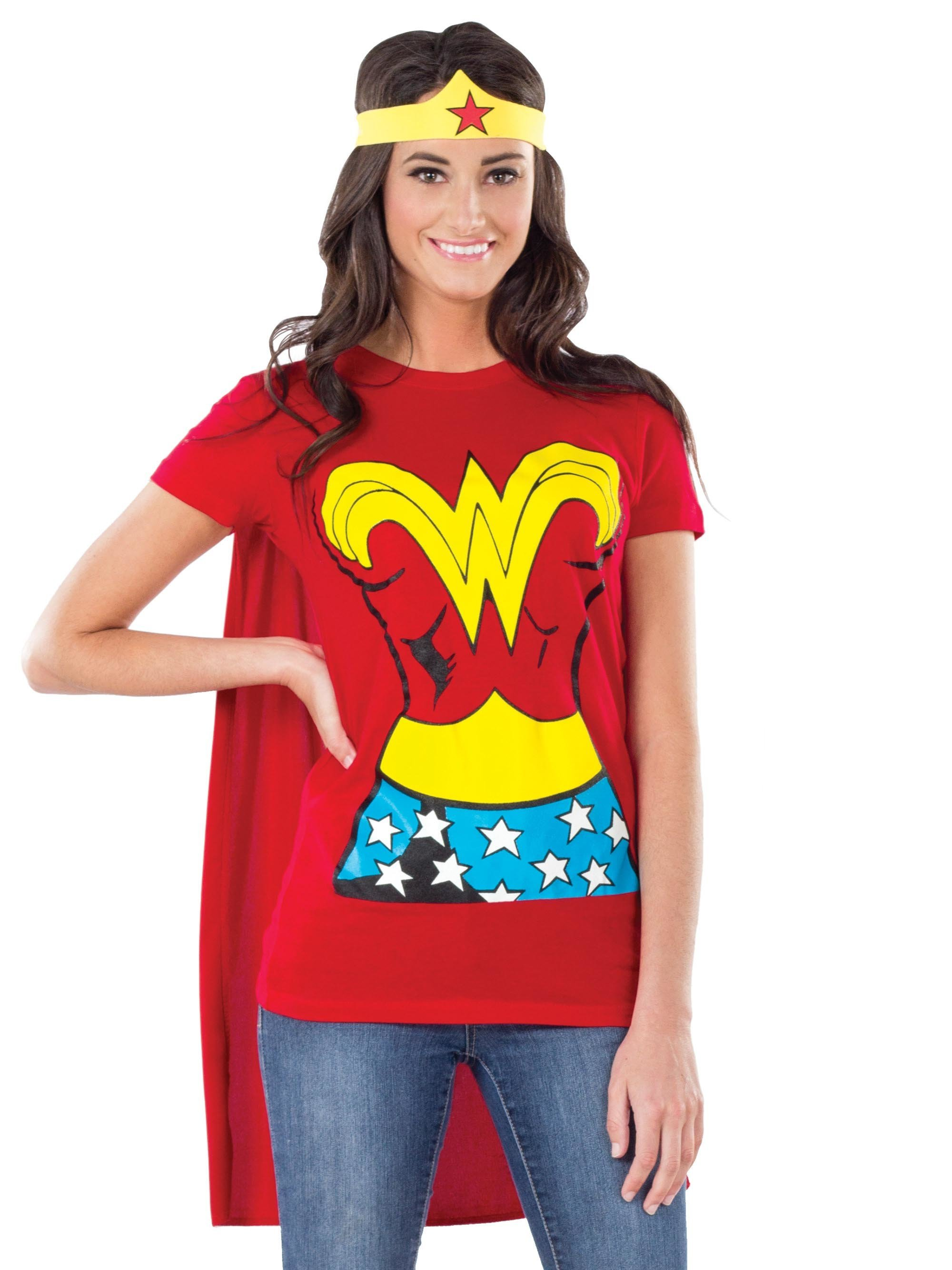 Womens Wonder Woman Tee-Shirt Kit