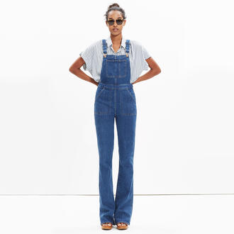 jumpsuit jeans denim overalls madewell dungarees