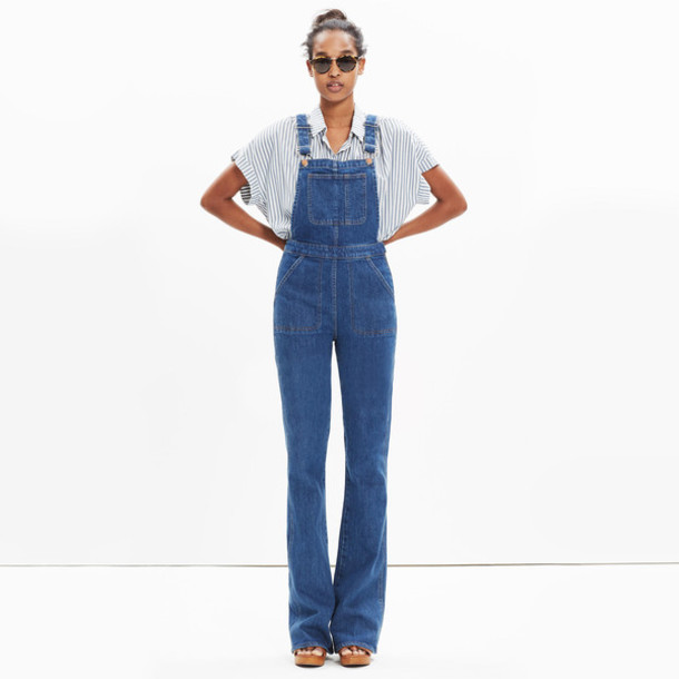 4215349e850 jumpsuit jeans denim overalls madewell dungarees