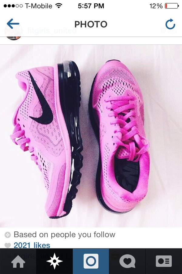 shoes neon bubblegum pink nike