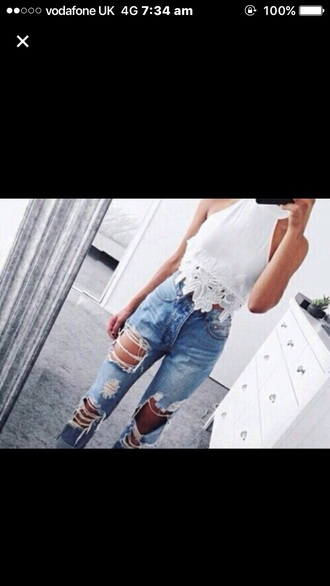 t-shirt tumblr white lace