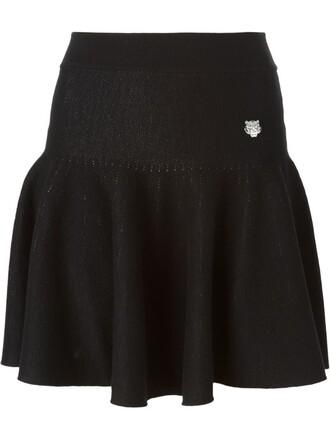 skirt mini skirt mini pleated black
