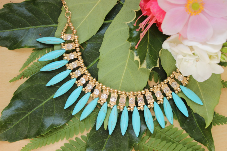 The ice drop chain necklace
