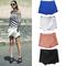 Bloggers fav women shorts black white wrap mini skirts with invisible zipper o | ebay