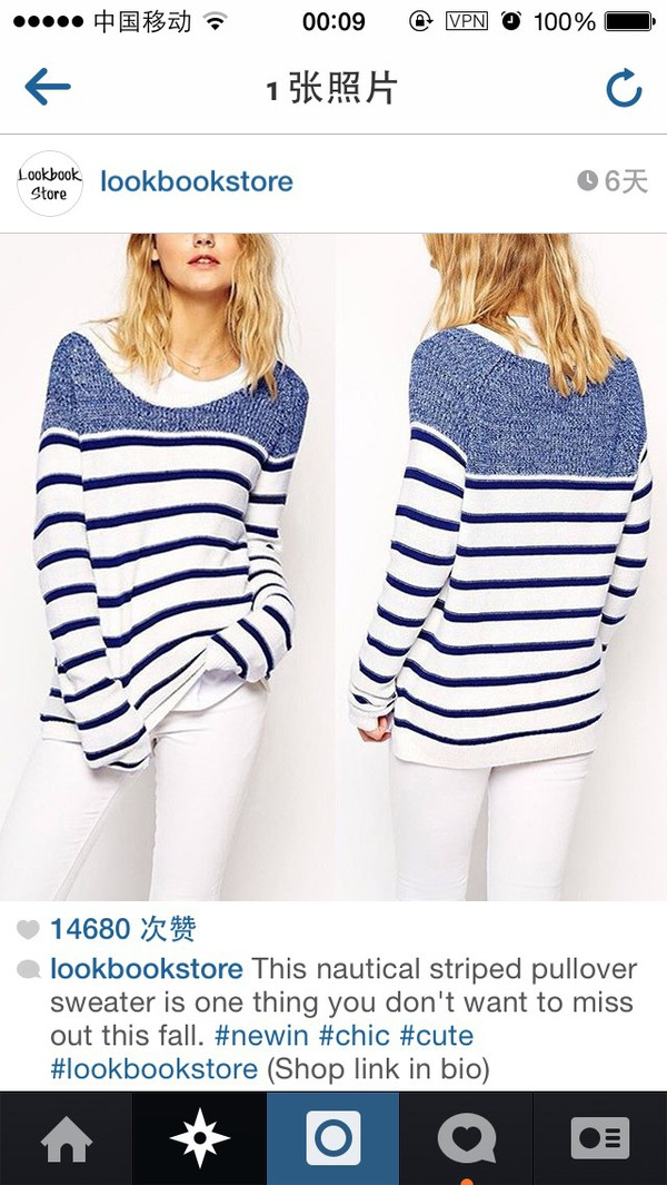 Women S Striped Sweater