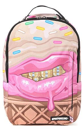 Sprayground Cupcake Mafia x Sprayground Ice Cream Grillz Backpack in Pink -  Karmaloop.com