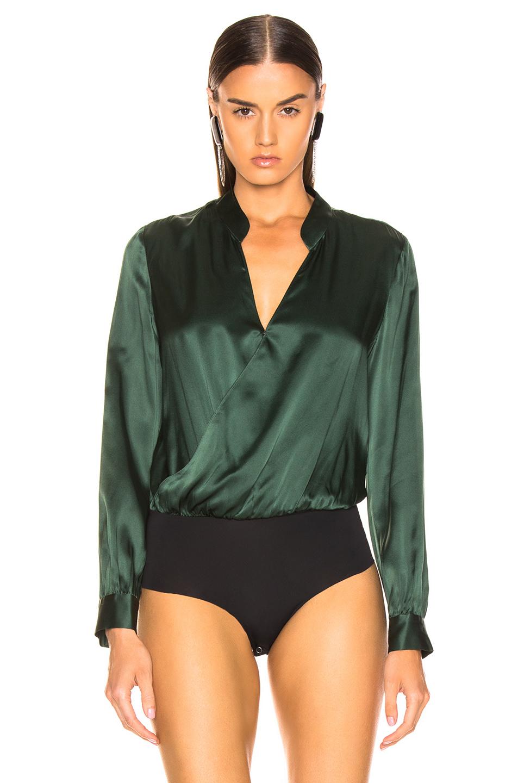 L'AGENCE Marcella Bodysuit in Picholine | FWRD