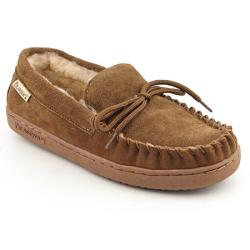 Bearpaw women's 'moc ii' brown hickory loafers shoes