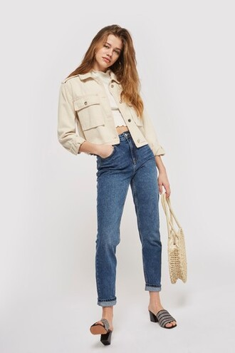 jeans mom jeans blue