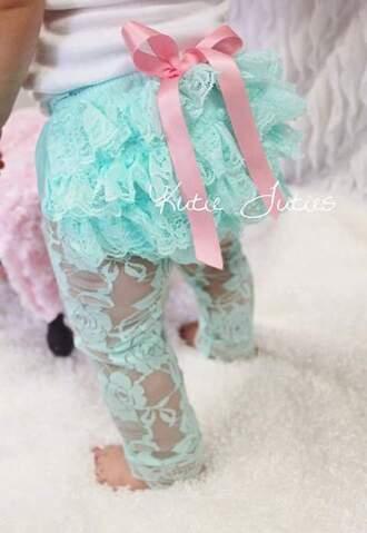 leggings babyblue baby