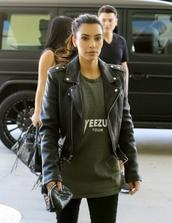 jacket,kim kardashian,style,yeezus,t-shirt,olive green