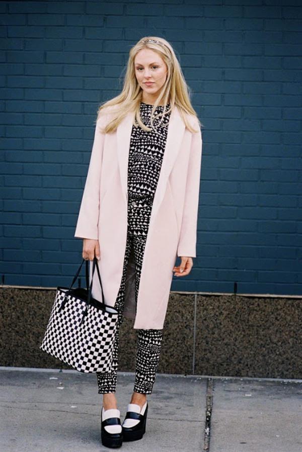 JOA Oversized Coat with Big Lapels | SHOPBOP