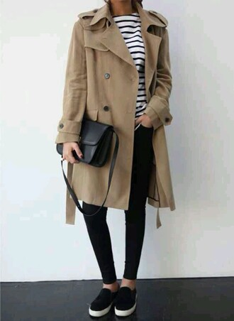 coat fall outfits winter outfits long coat tan style blog