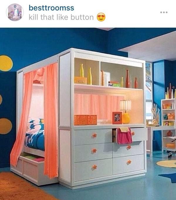 Orange Green Purple Room: Home Accessory: Mxlisa.xo, Bedroom, Tumblr Bedroom, Tumblr