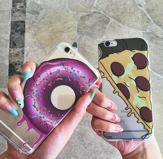 phone cover pizza iphone 5c 5c donut iphone case