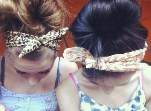 hat pattern pattern colorful hair bow