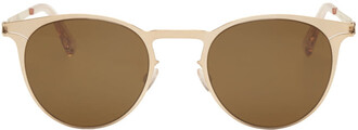 sun sunglasses gold