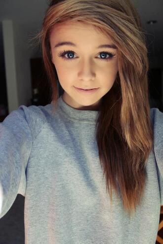 sweater acacia brinley she sweatshirt