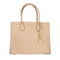 Michael michael kors mercer lg convertible tote leather oyster dinner for two at fashionette