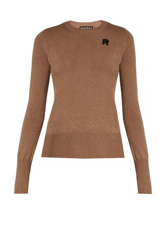 sweater wool sweater knit wool beige