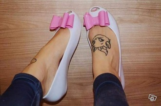 shoes ballerina bow