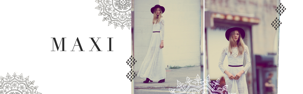 Patterned & Lace Maxi Dresses For Women | Free People