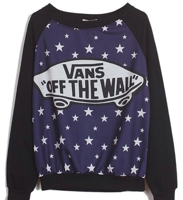 blouse vans stars