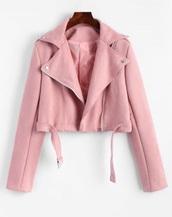 jacket,girly,pink,biker jacket,zip,zip up jacket,suede,suede jacket