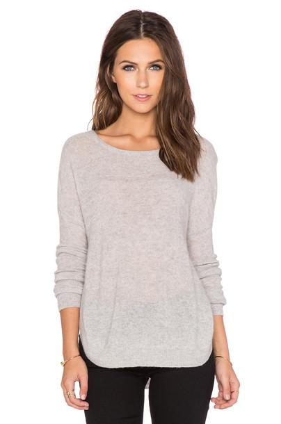 CHARLI Cambridge Sweater in gray
