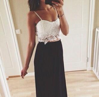 skirt black black shoes long sleeves black long skirt long