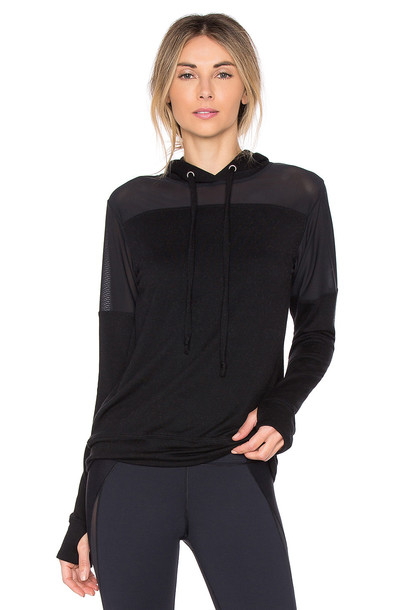 strut-this hoodie black sweater