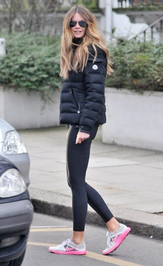 jacket moncler women jacket fashion outfit girl hot amazing elle macpherson