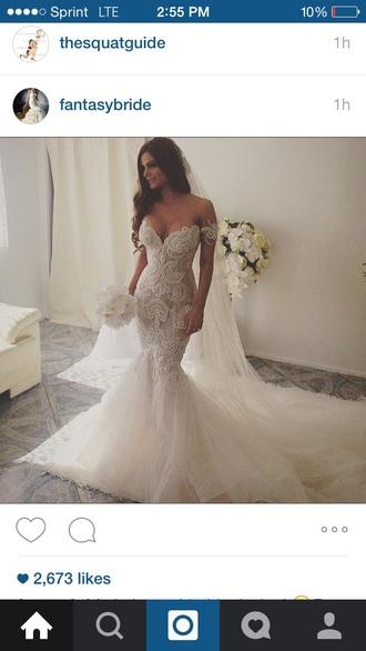 dress wedding dress lace dress