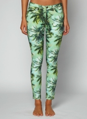 pants,tropical,leggings,printed leggings,tropical print pants,flowers,jeans