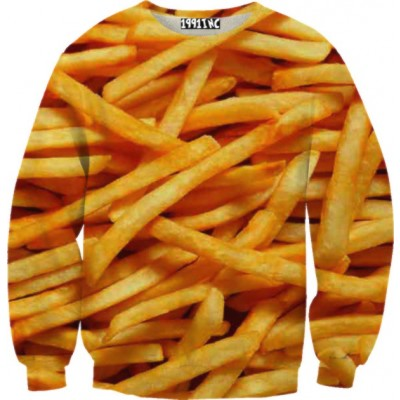 French fries sweater