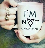 home accessory,mug,shadowhunters,tea,tea cup,cup,fangirl,white